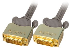 GOLD DVI-D SLD Single Link 15m Digital, 2x St 18+1 polig