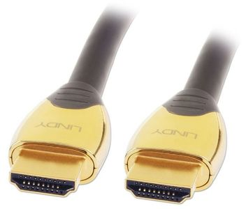 LINDY GOLD HDMI Kabel mit Ethernet 15m M/M, 2.0 HEC CAT2 (37857)