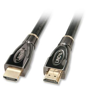 High Speed HDMI HEC Silver 3m Typ A/A Kabel mit Ethernet
