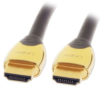 LINDY GOLD High Speed HDMI Kabel mit Ethernet 0,5m M/M (37850)