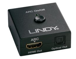 LINDY HDMI ARC Audio Extractor mit TosL. Ausgabe HDMI (38068)