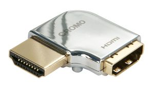 "CROMO HDMI Adapter 90° ""Links"" Winkeladapter M/F"