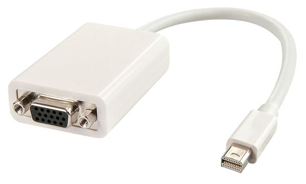 Mini-DP an VGA Adapter (aktiv) Mini DisplayPort an VGA F