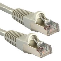 Cat.5e FTP Kabel, grau, 15m Gigabit Ready