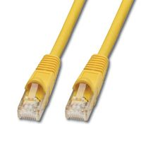 UTP Cat.6 Kabel gelb 0,5m