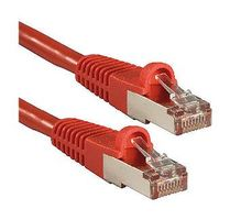 Cat.6A S/FTP PIMF LSOH, rot, 0,5m Patchkabel