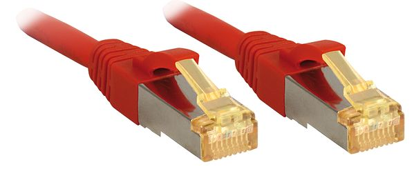 Cat.7 S/FTP PIMF LSOH, rot, 15m Patchkabel