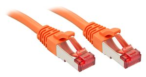 LINDY Cat.6 S/FTP Kabel, orange, 7,5m Patchkabel (47812)