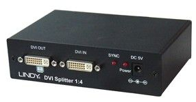 DVI HDTV Splitter 1:4 Digital DVI-Digital,  HDCP pass