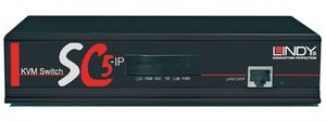 KVM Switch SC5-IP, 16 P.Cat.5 1 User, local & IP Console