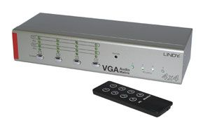4x4 VGA & Audio Matrix Switch Mit Multi Country PSU