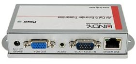 AV Cat.5 Transmitter Pro Sendet VGA & Audio via RJ45