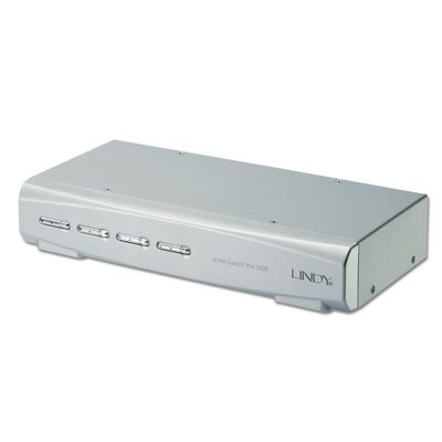 DVI-I KVM Switch Pro Audio USB 2.0 4P. USB 2.0/ DVI-I/ Audio