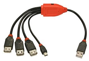 USB-Kabel-Hub 4 Port