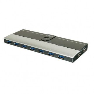 USB 3.0 Hub 7 Port mit 2 Ladeports