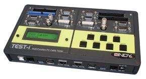 LINDY Multi-Kabeltester A & Digital Für DVI, HDMI, FireWire, USB (43019)