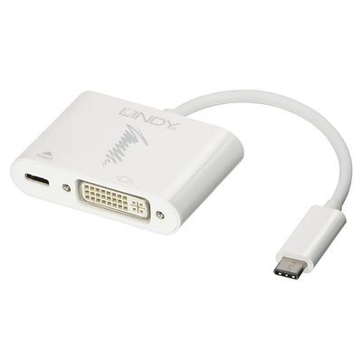 USB 3.1 Typ C DVI Adapter mit Power Delivery