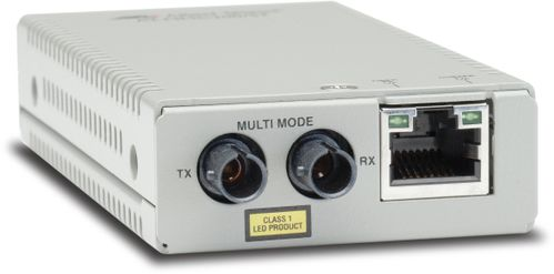 Allied Telesis AT-MMC200/ ST-60 Mini MC 10/100T  to 100BASE-FX MM, ST co (ATMMC200/ST60)