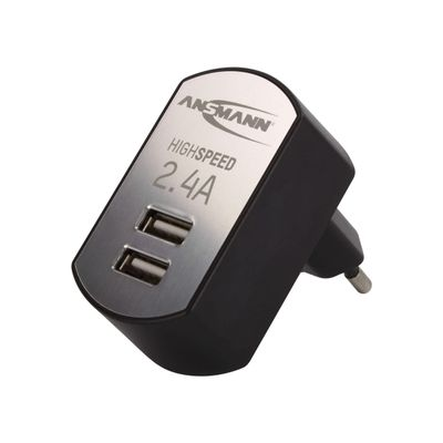 High Speed USB Charger 2.4A 2xUSB Port        1001-0031