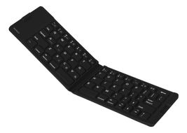 Bluetooth mini keyboard, folding, US layout, IPX5, black