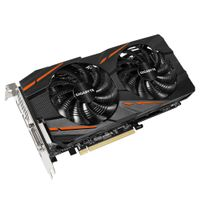 Radeon RX 470 4GB G1 Gaming Grafikkort,  PCI-Express 3.0, GDDR5, 1230MHz, Windforce 2X, RGB LED
