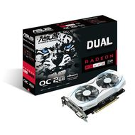 Radeon RX 460 DUAL OC Skjermkort,  PCI-Express 3.0, 2GB GDDR5, DL-DVI-D, HDMI, DP, OC-version