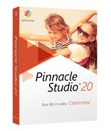 PINNACLE STUDIO 20 STANDARD EN/ CZ/ DA/ ES/ FI/ FR/ IT/ NL/ PL/ SV    IN DVD