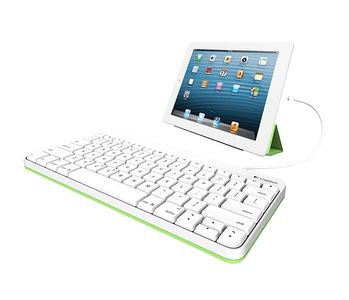 LOGITECH WIRED KEYBOARD FOR IPAD                         ND PERP (920-008147)