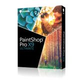 COREL PAINTSHOP PRO X9 ULTIMATE MINI-BOX ML VERSION IN