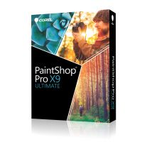 PAINTSHOP PRO X9 ULTIMATE MINI-BOX ML VERSION IN