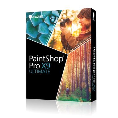Corel PaintShop Pro X9 Ultimate Mini-Box