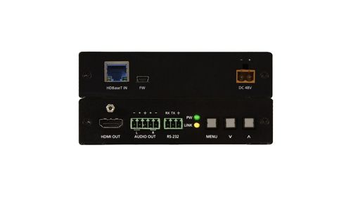 Atlona (Rx Only) HDBaseT Scaler with HDMI and Analog Audio Outputs (AT-HDVS-150-RX)