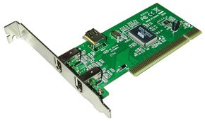 FireWire Karte 2+1 Port PCI VIA Chip