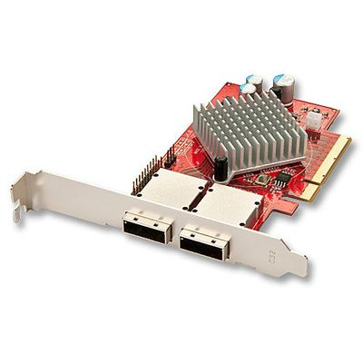 SAS/SATA 6G Karte 8 Port External, PCIe 2 x SFF-8088 Port