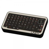 LINDY Micro WirelessKeyboard ENGLISH USB Rec. & optic. Touchpad (21840)