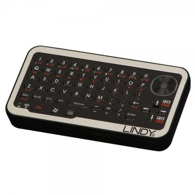 Micro WirelessKeyboard ENGLISH USB Rec. & optic. Touchpad