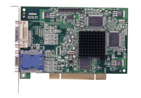 G450 32MB DDR2 PCI, DVI, VGA (HD-15), Passive cooling