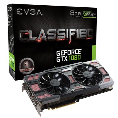 GeForce GTX 1080 Classified Gaming ACX 3.0, 8192 MB GDDR5X