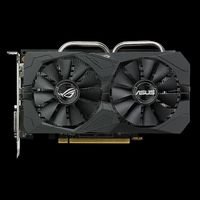Radeon RX 460 ROG Strix Gaming Grafikkort,  PCI-Express 3.0, 4GB GDDR5, DL-DVI-D, HDMI, DP, OC-version