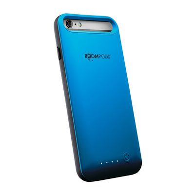 Powercase for iPhone 6/6s Plus 4000 mAh blue