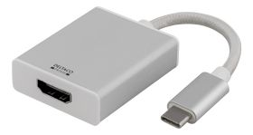 Adapter USB to HDMI, Silver