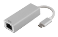DELTACO Adapter USB to Network, Silver