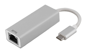 Adapter USB to Network, Silver