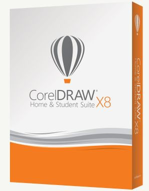 CORELDRAW SUITE X8 HOME & STUDENT MINI BOX          IT DVD
