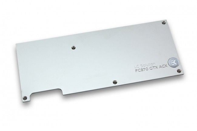 EK-FC970 GTX ACX Backplate - Nickel
