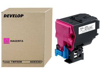 DEVELOP Toner DEVELOP TNP-50M | 5000 pages | Magenta | ineo +3100P (A0X53D7)