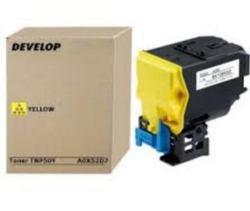 DEVELOP Toner DEVELOP TNP-50Y | 5000 pages | Yellow | ineo +3100P (A0X52D7)