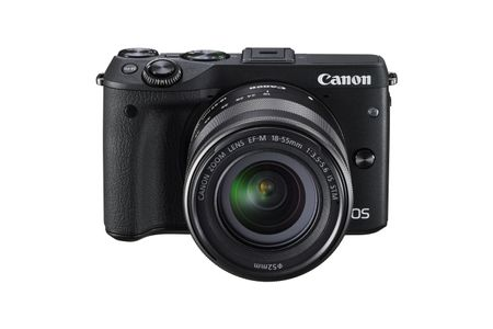 CANON D CAM EOS M3 24.2MP 3XOPT NOINTMEM 3IN LCD/TFT BLACK IN (9694B100)