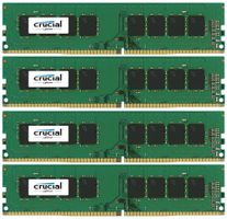 32GB KIT (8GBX4) DDR4 2400 MT/S PC4-19200 CL17 SRX8 UNBDIMM 288P