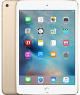 "iPad Mini 4 7.9"" Cell 32GB Gull Wi-Fi + Cellular, 7.9"" Retina Skjerm, 8MP/1.2MP kamera, iOS"